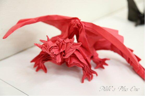 クリスマス 折り紙:ドラゴン 折り紙-divulgando.net